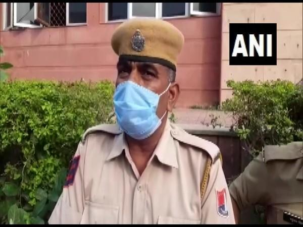 Rajasthan Police official (Photo/ANI)