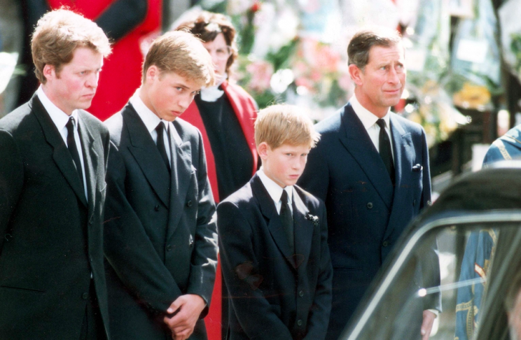Harry and William were due to be reunited with their mother the day after she was killed (Rex)