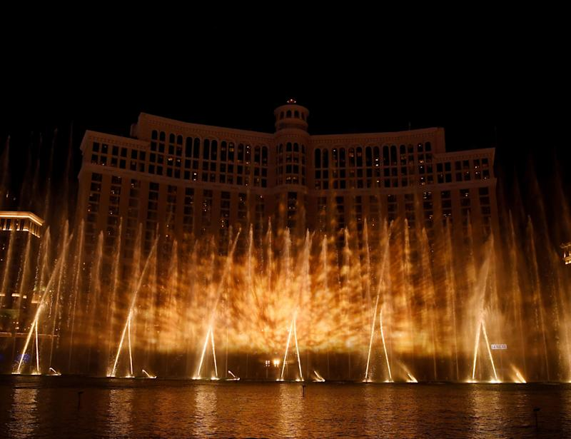 Feel the heat from the Bellagio's 'Game of Thrones' fountain show (Photo: Getty Images for MGM Resorts)