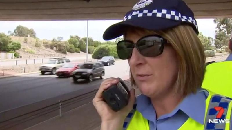 Extra officers were out on the roads in a blitz on drivers speeding. Source: 7 News