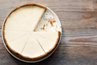 """<p>Almost everyone loves a good cheesecake, and this easy-to-follow recipe is perfect for birthdays, holidays, cookouts, dinner parties or any time you're in charge of bringing dessert.</p> <p><a href=""""https://www.thedailymeal.com/recipes/new-york-style-vanilla-cheesecake-recipe?referrer=yahoo&category=beauty_food&include_utm=1&utm_medium=referral&utm_source=yahoo&utm_campaign=feed"""" rel=""""nofollow noopener"""" target=""""_blank"""" data-ylk=""""slk:For the New York Style Vanilla Cheesecake recipe, click here."""" class=""""link rapid-noclick-resp"""">For the New York Style Vanilla Cheesecake recipe, click here.</a></p>"""