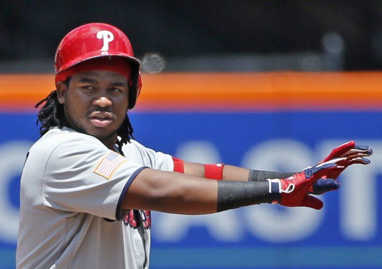 Hot take: This online sportsbook thinks Maikel Franco and the Phillies aren't gonna win it all this year. (AP)