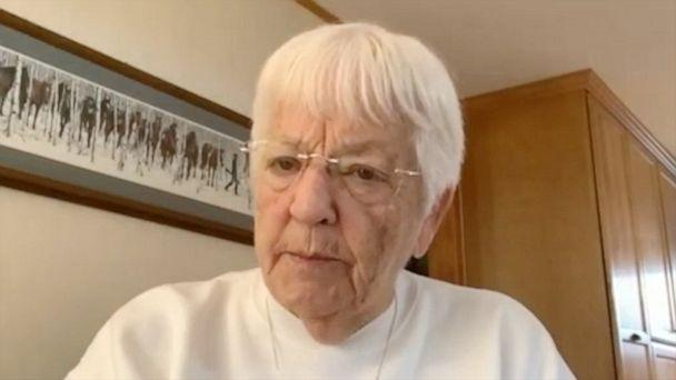 PHOTO: Jane Elliott discusses with ABCNews.com on June 25, 2020, the legacy of her 'Blue Eyes, Brown Eyes' exercise and why the lessons it teaches are still relevant today. (ABC News)