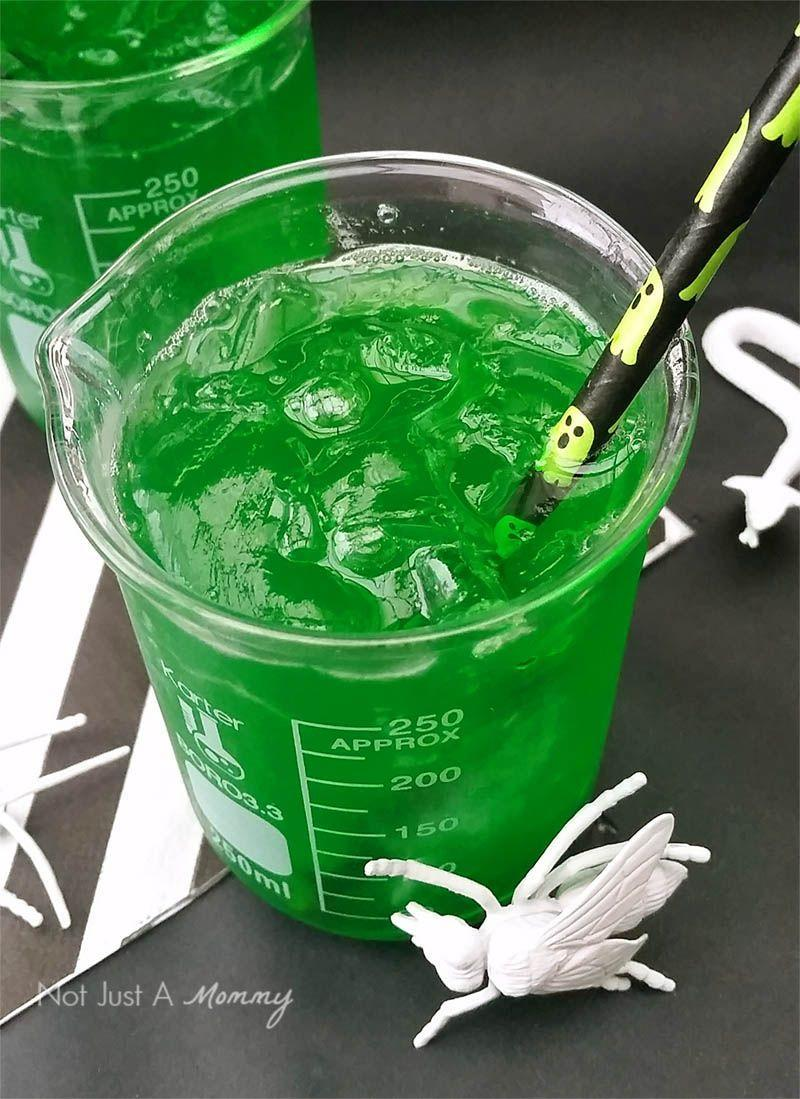 """<p>Add some booze to this creative toxic ooze punch for an adult-friendly Halloween treat. This one calls for Jell-O, apple juice, and seltzer.</p><p><strong>Get the recipe at <a href=""""https://revelandglitter.com/2015/10/its-halloweek-toxic-ooze-halloween-punch/#.V3vMyWQrJz8"""" rel=""""nofollow noopener"""" target=""""_blank"""" data-ylk=""""slk:Revel and Glitter"""" class=""""link rapid-noclick-resp"""">Revel and Glitter</a>. </strong></p><p><a class=""""link rapid-noclick-resp"""" href=""""https://go.redirectingat.com?id=74968X1596630&url=https%3A%2F%2Fwww.walmart.com%2Fip%2FBats-and-Ghosts-Halloween-Paper-Straws-10-Count%2F46355014&sref=https%3A%2F%2Fwww.thepioneerwoman.com%2Fholidays-celebrations%2Fg36792938%2Fhalloween-punch-recipes%2F"""" rel=""""nofollow noopener"""" target=""""_blank"""" data-ylk=""""slk:SHOP HALLOWEEN PAPER STRAWS"""">SHOP HALLOWEEN PAPER STRAWS</a></p>"""