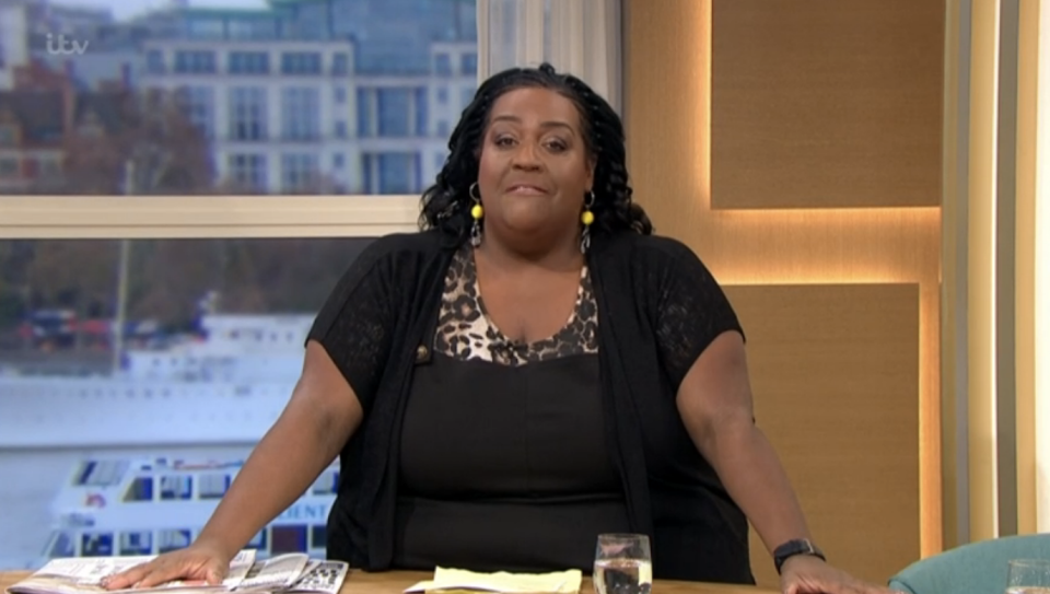 Alison Hammond opened This Morning with Holly Willoughby and Phillip Schofield nowhere to be seen