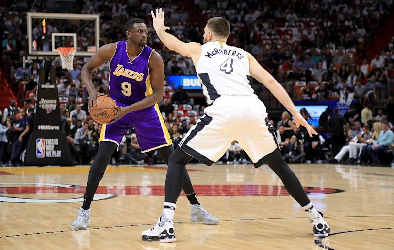 Luol Deng will reportedly part ways with the Lakers