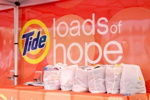 Procter & Gamble Brings Relief to Residents Affected by Ohio Tornadoes with P&G Product Kits and Tide Loads of Hope Laundry Services