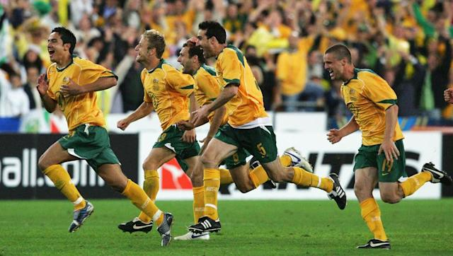 <p>Australia experienced redemption for their cruel loss at the hands of Argentina 12 years prior by reaching the finals of the 2006 World Cup with a triumph against Uruguay.</p> <br><p>The Socceroos also succeeded in banishing bad memories of their game against the same opponents four years before, and their triumph meant qualification for a finals for the first time in three decades.</p> <br><p>It came about after a pair of 1-0 wins for either side forced extra time and then penalties in the second leg.</p> <br><p>Luckily, Australia were sharper from the spot and John Aloisi fired the decisive penalty home to the ecstasy of 82,000 Aussie fans.</p>
