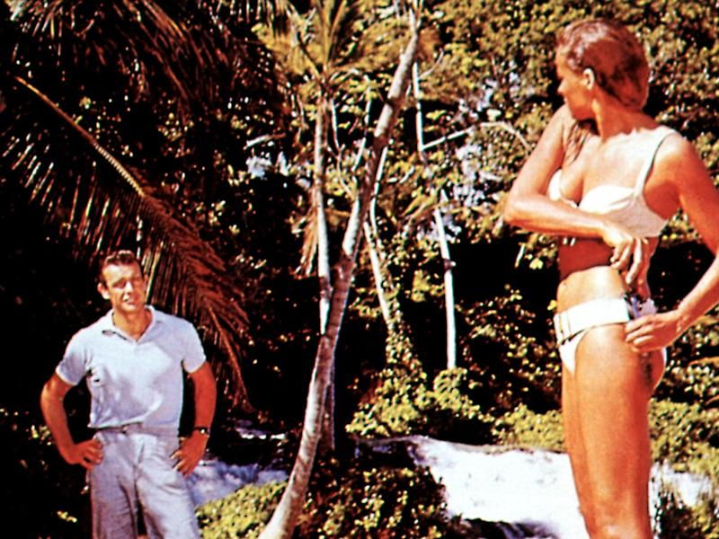 Sean Connery and Ursula Andress in 'Dr No'Rex Features