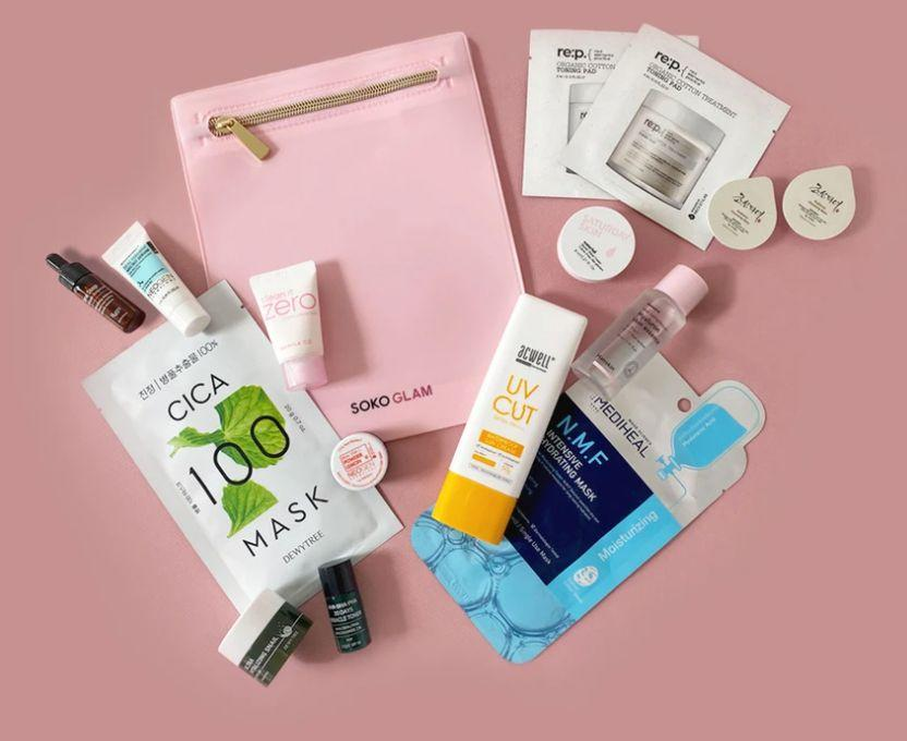 """If your friend is really into K-beauty, this set is basically an intro into """"a full K-beauty 10-step routine."""" You'll find sheet masks, toning pads and creams in the set, which also comes with aSoko Glam pouch that's perfect for traveling.<a href=""""https://fave.co/31KAvt9"""" target=""""_blank"""" rel=""""noopener noreferrer"""">Find it for $40 at Soko Glam</a>."""