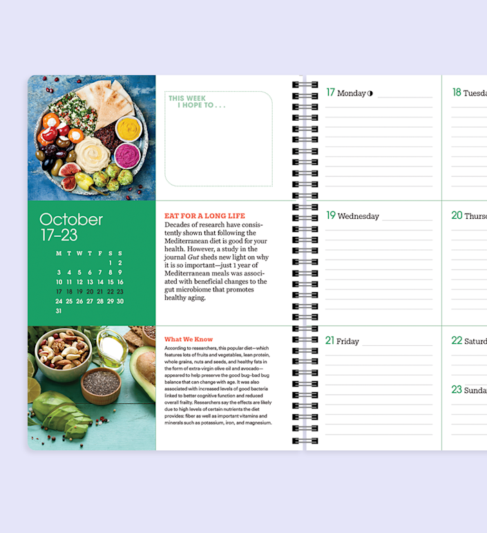 """<p>Take control of your health and weight with an eating approach focused on REAL food.</p><p><a class=""""link rapid-noclick-resp"""" href=""""https://shop.prevention.com/prevention-2022-calendar-and-health-planner.html?source=2022PRECal_-ed-New_Article-"""" rel=""""nofollow noopener"""" target=""""_blank"""" data-ylk=""""slk:SHOP NOW"""">SHOP NOW</a></p>"""