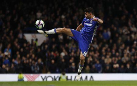 Chelsea's Diego Costa in action