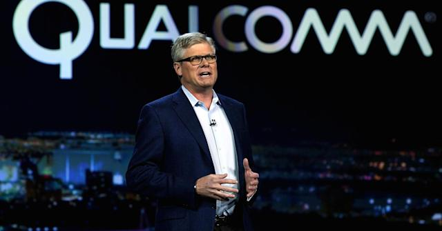 Qualcomm CEO Steven Mollenkopf/Getty Images