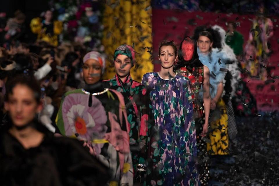 Richard Quinn will be staging a catwalk show at London Fashion Week (Aaron Chown/PA) (PA Archive)