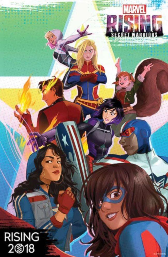 Marvel to launch animated series focused on young, diverse heroes