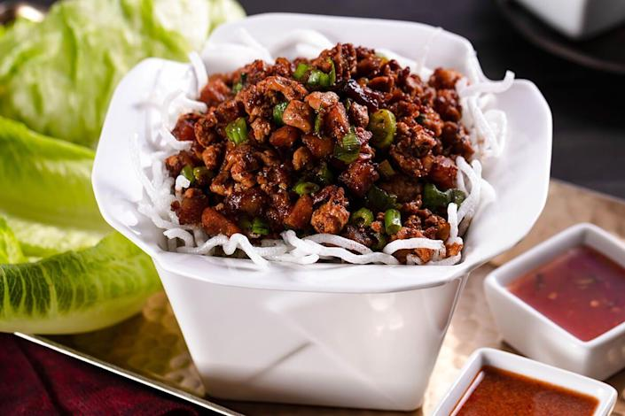 """<p>This chain consistently delivers elevated dishes and is always reinventing their menu. But don't forget to try the OG classic, the Chicken Lettuce Wraps, which are so good we recreated them<a href=""""https://www.delish.com/cooking/recipe-ideas/recipes/a49533/asian-lettuce-wraps-recipe/"""" rel=""""nofollow noopener"""" target=""""_blank"""" data-ylk=""""slk:here"""" class=""""link rapid-noclick-resp""""> here</a>.</p>"""