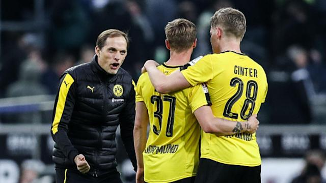 The Dortmund manager was full of praise for his side after their dramatic Bundesliga victory at Borussia Monchengladbach