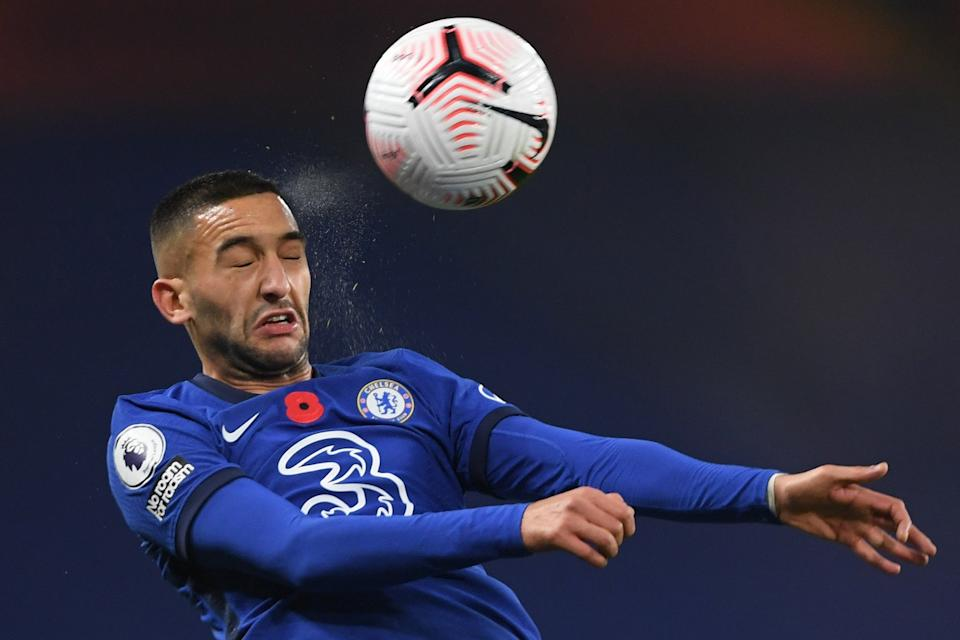 <p>Hakim Ziyech preferred over Timo Werner.</p>Pool via REUTERS