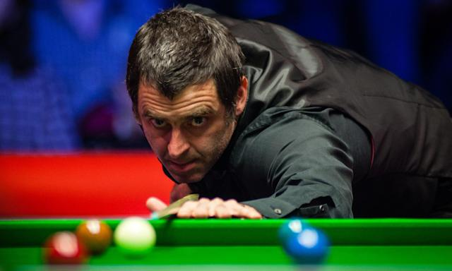 Could a robot take on Ronnie O'Sullivan? Photograph: Imaginechina/Rex/Shutterstock