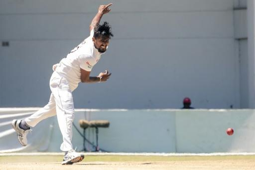Suranga Lakmal rocked Zimbabwe with three wickets in his first three overs