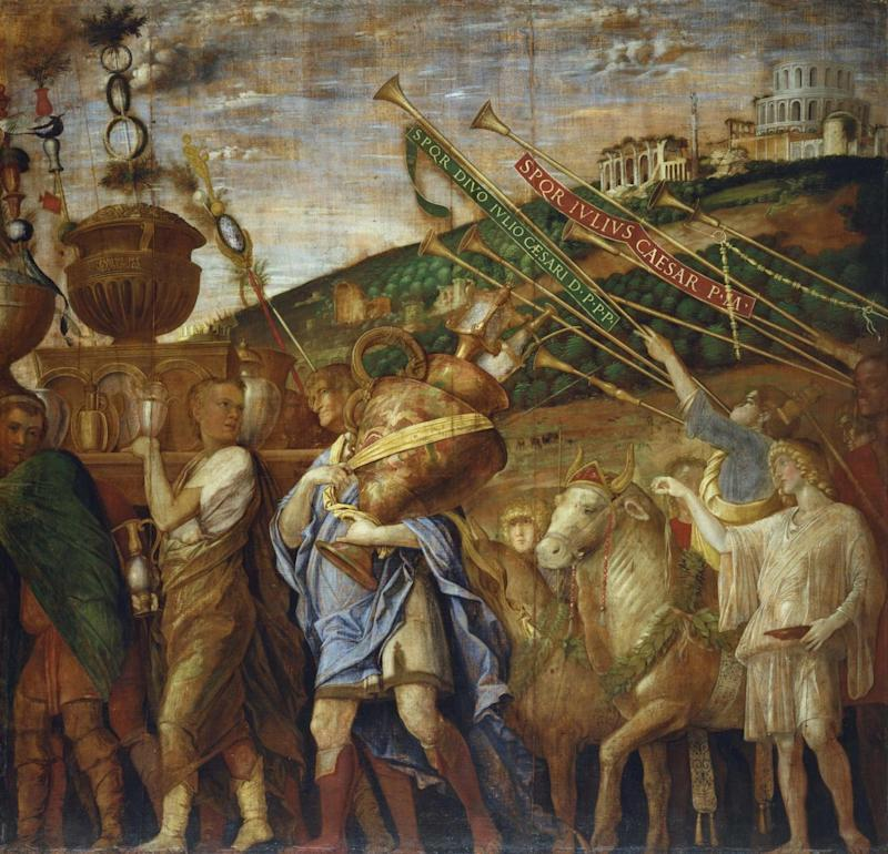 Andrea Mantegna, Triumph of Caesar: The Vase Bearers, c. 1484-92 (Royal Collection Trust / © Her Majesty Queen Elizabeth II 2017)
