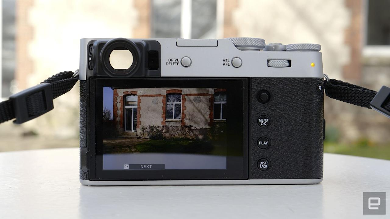 Fujifilm X100V compact fixed-lens camera