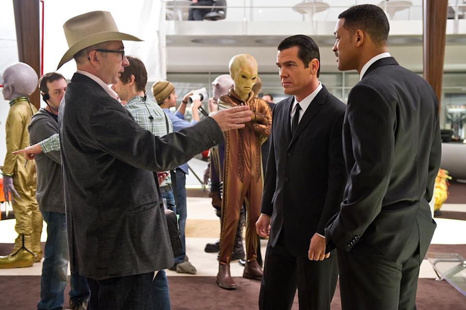 """Josh Brolin and Will Smith in Columbia Pictures' """"Men in Black 3"""" - 2012"""