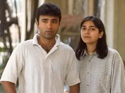 Saeed Anwar and Lubna