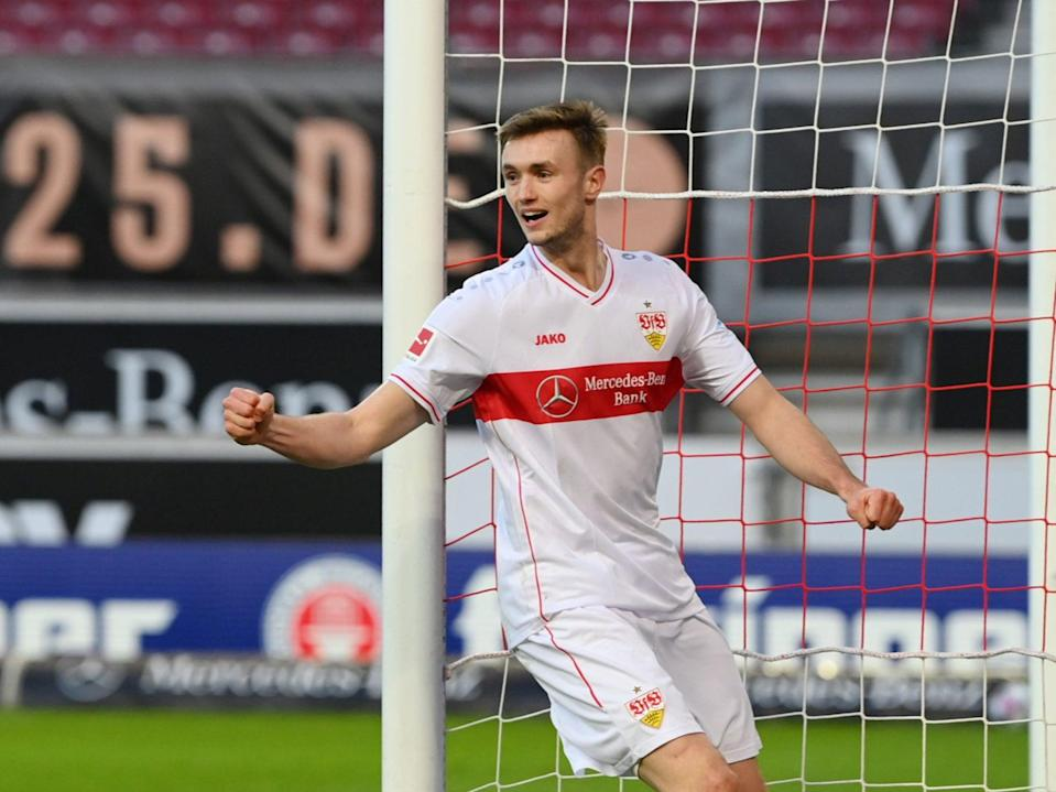 Sasa Kalajdzic is set to leave Stuttgart this summer (Getty Images)