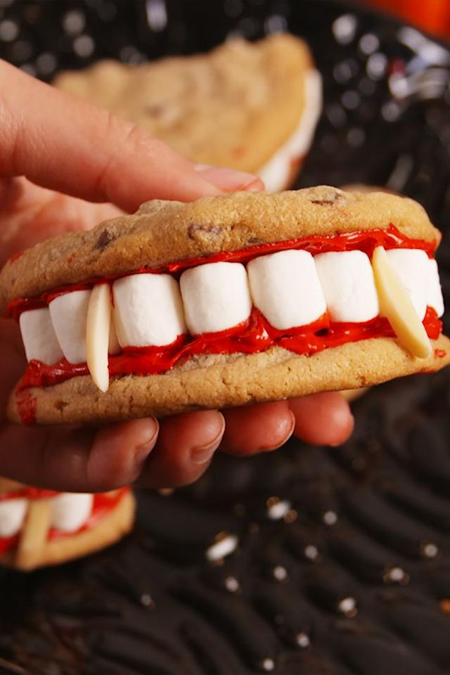 "<p>The only tasty dentures.</p><p>Get the recipe from <a href=""https://www.delish.com/cooking/recipe-ideas/recipes/a55668/dracula-dentures-recipe/"" target=""_blank"">Delish</a>.</p>"