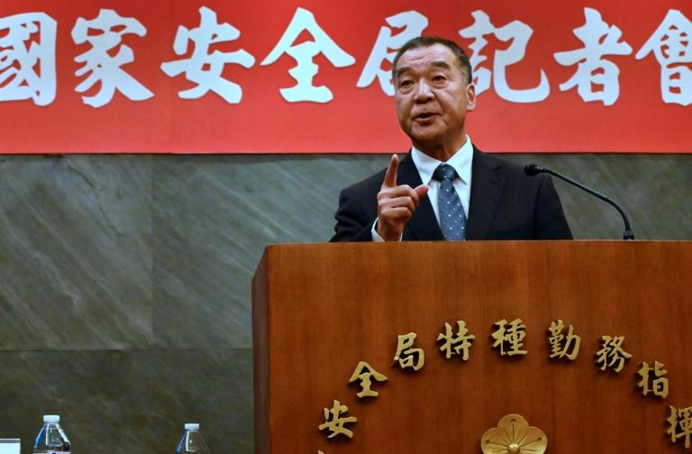 Taiwan's spy chief Chiu Kuo-cheng delivered a highly unusual press conference on Friday