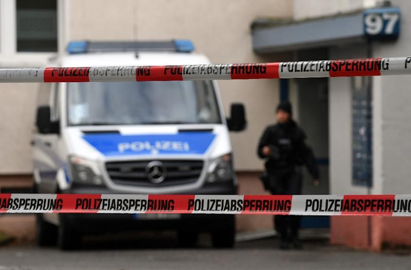 German police raided 200 sites across 10 states in a probe against an Islamist group called 'The True Religion' (AFP Photo/Hendrik Schmidt)