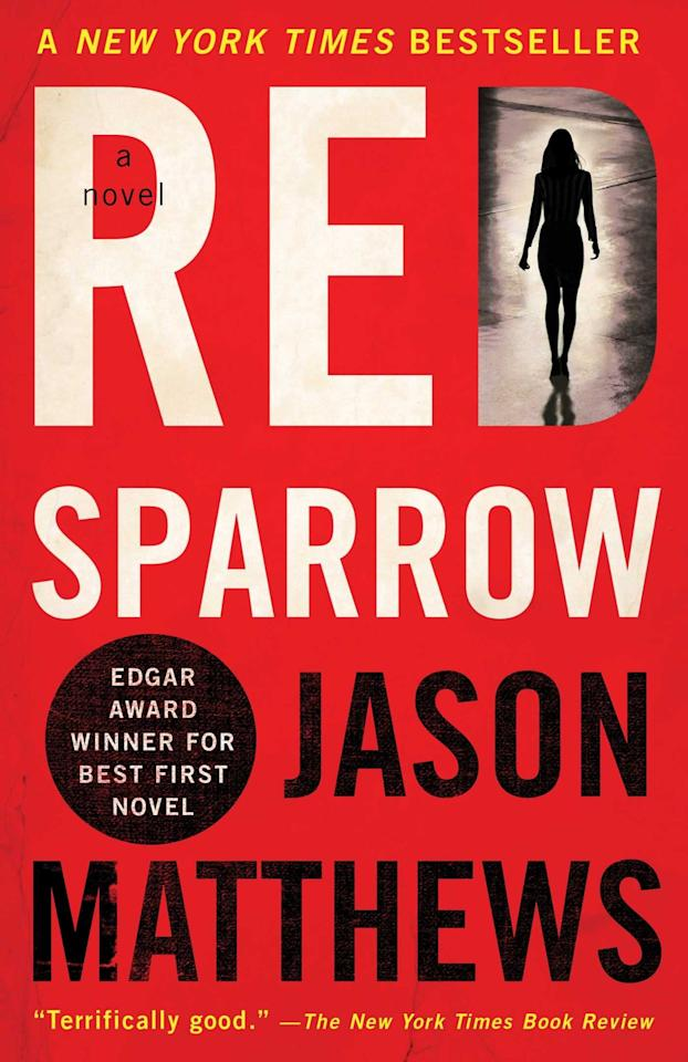 """<p>Jason Matthews's <a href=""""https://www.popsugar.com/buy?url=https%3A%2F%2Fwww.amazon.com%2FRed-Sparrow-Novel-Trilogy%2Fdp%2F1476764174&p_name=%3Cstrong%3ERed%20Sparrow%3C%2Fstrong%3E&retailer=amazon.com&evar1=buzz%3Aus&evar9=46425097&evar98=https%3A%2F%2Fwww.popsugar.com%2Fentertainment%2Fphoto-gallery%2F46425097%2Fimage%2F46425104%2FRed-Sparrow&list1=movies%2Cbooks&prop13=mobile&pdata=1"""" rel=""""nofollow"""" data-shoppable-link=""""1"""" target=""""_blank"""" class=""""ga-track"""" data-ga-category=""""Related"""" data-ga-label=""""https://www.amazon.com/Red-Sparrow-Novel-Trilogy/dp/1476764174"""" data-ga-action=""""In-Line Links""""><strong>Red Sparrow</strong></a> is here to remind you that not all thrillers are about unhappy marriages. Some of them are about kick-butt Russian spies pulling off complex operations that will leave you breathless. The first book in the author's trilogy was adapted into a 2018 film starring <a class=""""sugar-inline-link ga-track"""" title=""""Latest photos and news for Jennifer Lawrence"""" href=""""https://www.popsugar.com/Jennifer-Lawrence"""" target=""""_blank"""" data-ga-category=""""Related"""" data-ga-label=""""https://www.popsugar.com/Jennifer-Lawrence"""" data-ga-action=""""&lt;-related-&gt; Links"""">Jennifer Lawrence</a>, but somehow the deadly agent Dominika Egorova is even more fun on the page. </p>"""