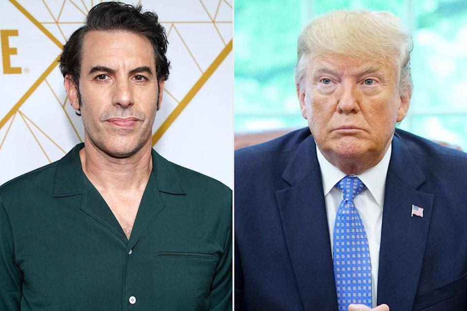 Sacha Baron Cohen Rescinds Job Offer to Donald Trump After Election Loss: Your Performance Was 'Sad'