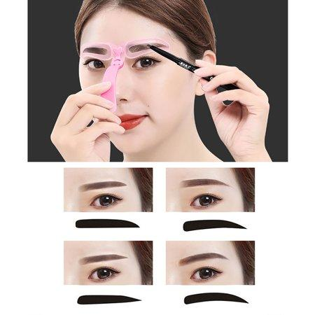 Eyebrow Stencil Kit (Photo Walmart)