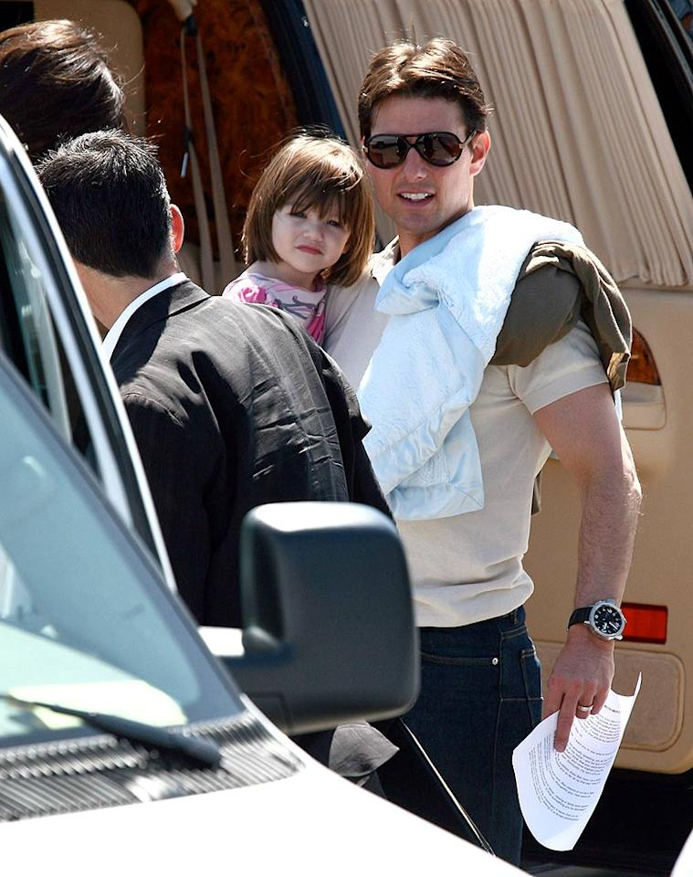 "With his recent disappointments at the box office (""Lions for Lambs,"" ""Mission Impossible 3""), we can safely say adorable Suri is Tom Cruise's best production in years. IONU/<a href=""http://www.x17online.com"" target=""new"">X17 Online</a> - May 16, 2008"