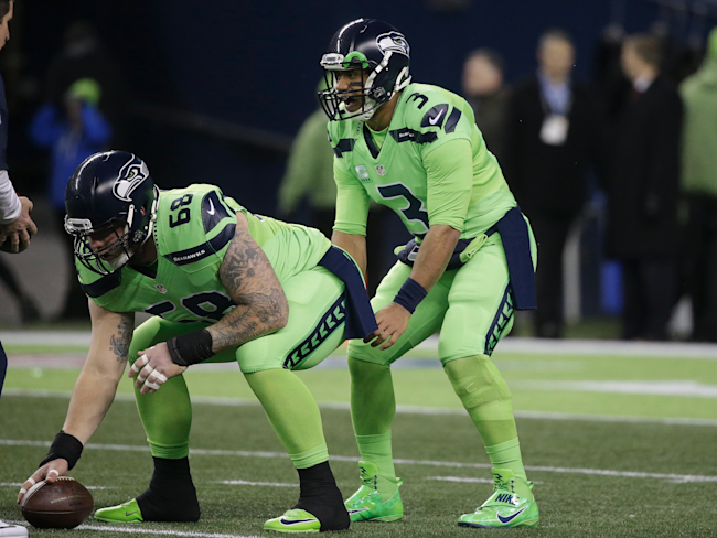 The Seattle Seahawks are wearing the craziest NFL  Color Rush ... 9a5c74e83