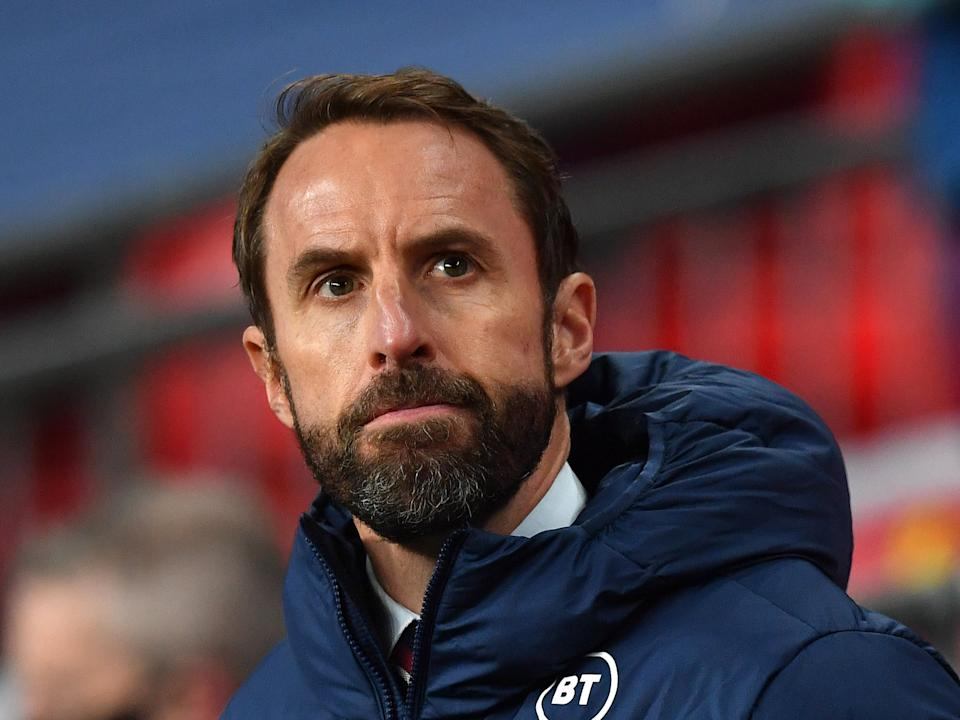 <p>Southgate has learnt that the management of England players is a tricky business</p>Getty