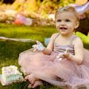 """<p>Jill Wagner's daughter <a href=""""https://people.com/parents/jill-wagner-welcomes-daughter-army-gray-exclusive/"""" rel=""""nofollow noopener"""" target=""""_blank"""" data-ylk=""""slk:Army Gray"""" class=""""link rapid-noclick-resp"""">Army Gray</a> turned 1 on April 17.</p>"""