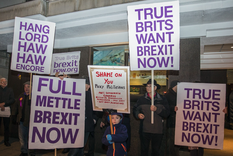 <em>Brits are currently massively divided about Brexit (Rex)</em>