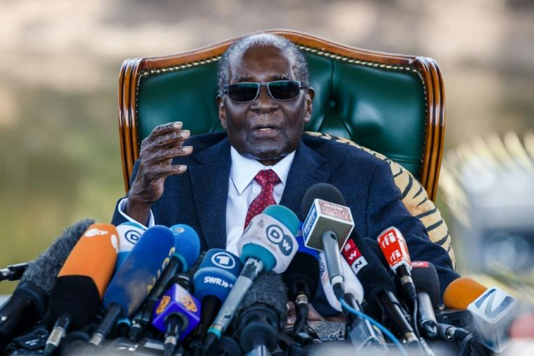 Former Zimbabwean President Robert Mugabe ruled for 37 years until he was ousted in 2017