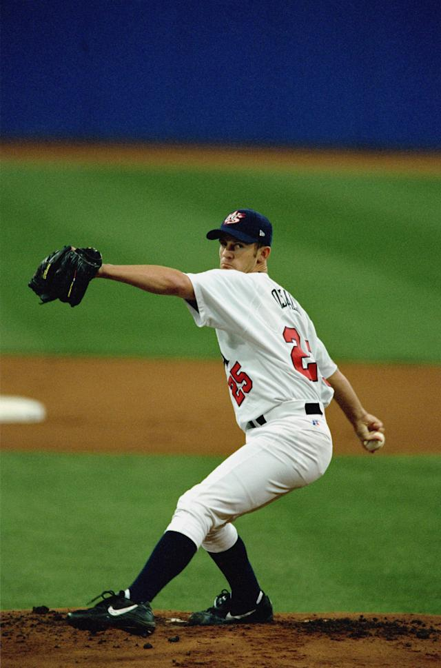 <p>During a 12-year MLB career, Roy Oswalt played for the Colorado Rockies, the Philadelphia Phillies and Texas Rangers. Before making his major league debut in 2001, the three-time All Star pitcher also won a gold medal with Team USA at the 2000 Summer Olympics in Sydney. (Getty) </p>