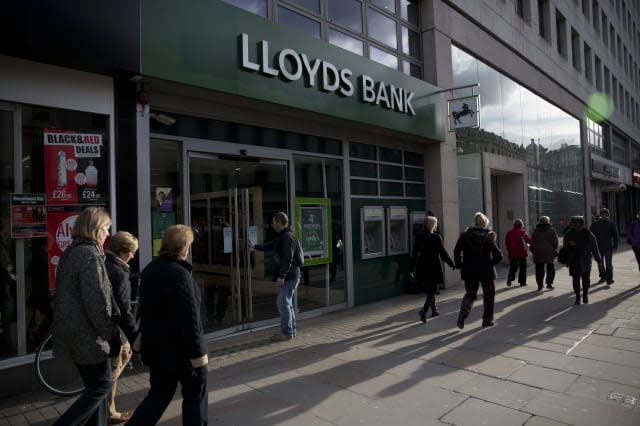 Britain Earns Lloyds