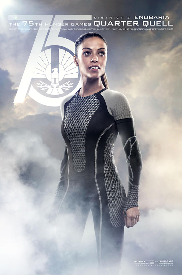 """Meta Golding as Enobaria in Lionsgate's """"The Hunger Games: Catching Fire"""" - 2013"""