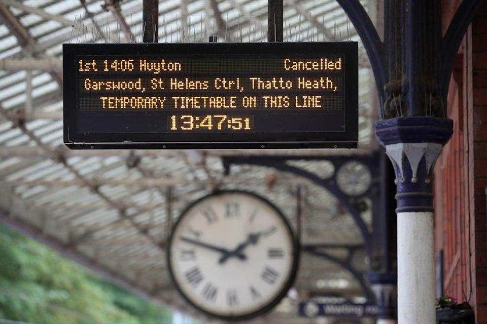 Passengers can sign up by planning their journey using the National Rail Enquiries website (Nick Potts/PA) (PA Archive)