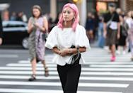 """<p>A Libra is fun, easy-going, and everyone wants to be around them. The """"pink wash"""" hair color trend will make you the center of attention, which is secretly a dream come true for you. </p>"""