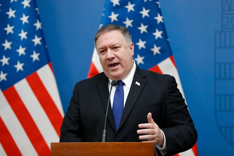 Secretary of State Mike Pompeo takes questions about the death of General Soleimani.