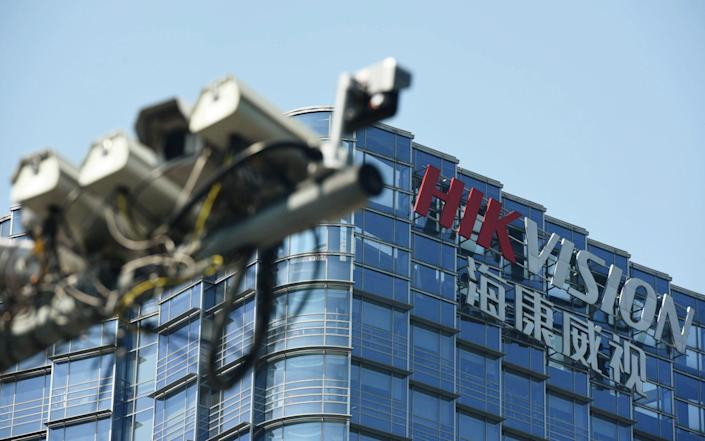 The Hangzhou headquarters of Chinese video surveillance firm Hikvision - Reuters