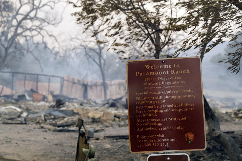 Historic Paramount Ranch, Home To 'Westworld', 'Dr. Quinn', Destroyed In Woolsey Fire