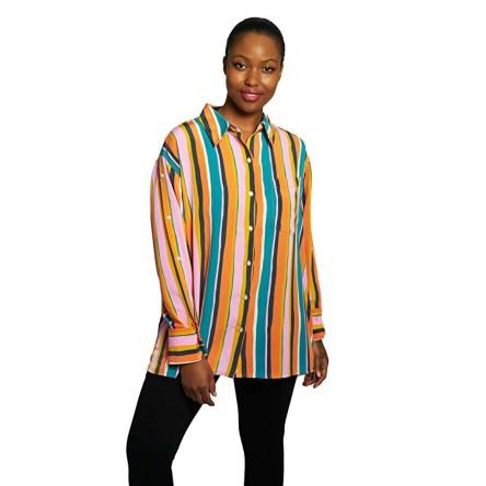 Dubgee By Whoopi Side Button Sleeve Shirt. (Photo: Amazon)
